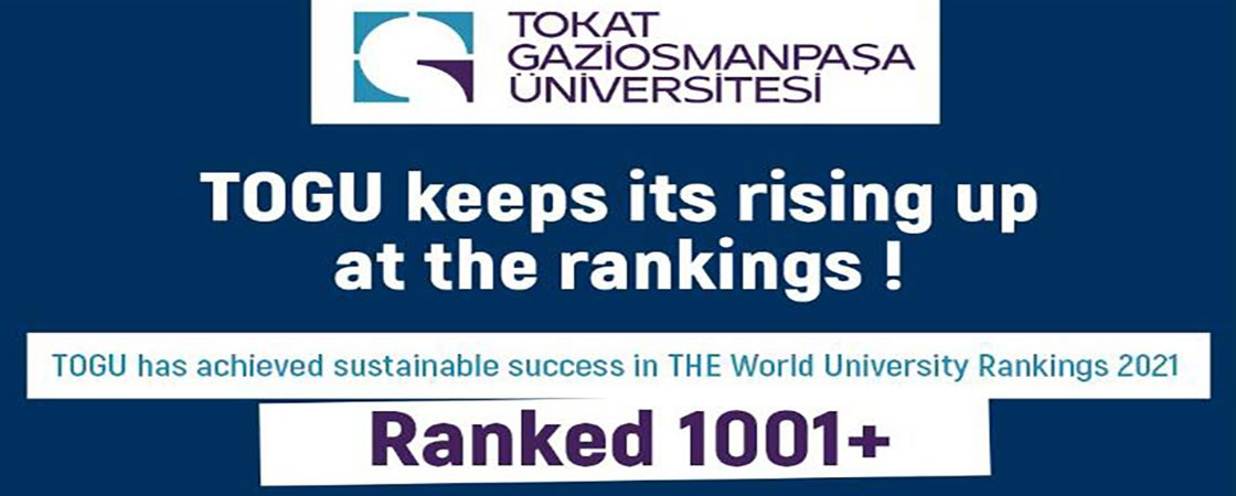 TOGU has achieved sustainable success in THE World University Rankings 2021
